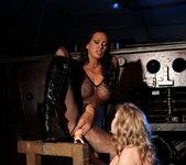 Mandy Bright and Kira Banks Lesbian BDSM - Mighty Mistress 27