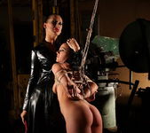 Mandy Bright and Clarisse Lesbian Slave - Mighty Mistress 10