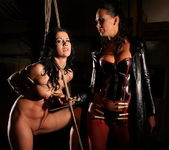 Mandy Bright and Clarisse Lesbian Slave - Mighty Mistress 15