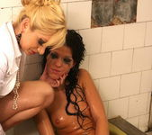 Lee Lexxus and Celine Black Lesbian Slave - Mighty Mistress 14