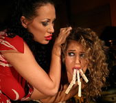 Mandy Bright & Kathalina Lesbian Punishment 7