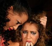 Mandy Bright & Kathalina Lesbian Punishment 8