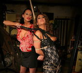 Mandy Bright & Kathalina Lesbian Punishment 13