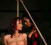 Katy Parker & Mandy Bright Lesbian Slave - Mighty Mistress 9
