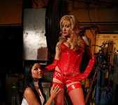 Lee Lexxus & Angelica Heart Lesbian Bondage 4