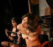 Mandy Bright & Maya Bee Lesbian Punishment - Mighty Mistress 6