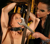 Evelyne Foxy & Sabrina Sweet Lesbian BDSM - Mighty Mistress 7