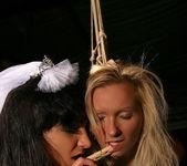Angela Winters & Sabrina Sweet Lesbian Slave 10
