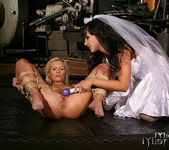 Angela Winters & Sabrina Sweet Lesbian Slave 14