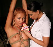 Mandy Bright & Greta Lesbian Punishment - Mighty Mistress 11
