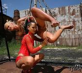 Sabrina Sweet & Angelic Diamond Lesbian Bondage 6