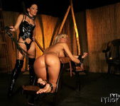 Sandra Parker & Mya Diamond Lesbian Slave - Mighty Mistress 10