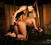 Sandra Parker & Mya Diamond Lesbian Slave - Mighty Mistress 14