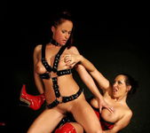 Kathy Parker & Mandy Bright Lesbian Punishment 29
