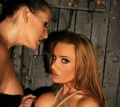 Bonny Bon & Mandy Bright Lesbian Slave - Mighty Mistress 4