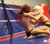 Bibi Noel & Amirah Adara - Lesbian Wrestling 9
