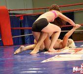 Bibi Noel & Amirah Adara - Lesbian Wrestling 10