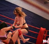 Nicole Sweet & Lexy Little - Girl on Girl - Nude Fight Club 9