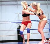 Brandy Smile & Barbie White - Wrestling Girls 3