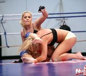 Brandy Smile & Barbie White - Wrestling Girls 6