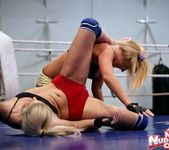 Brandy Smile & Barbie White - Wrestling Girls 8