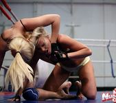 Brandy Smile & Barbie White - Wrestling Girls 9