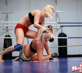 Brandy Smile & Barbie White - Wrestling Girls 11