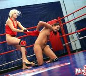 Brandy Smile & Lioness - Lesbian Wrestling - Nude Fight Club 11