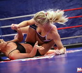 Ally & Melane - Wrestling Girls - Nude Fight Club 5