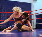 Ally & Melane - Wrestling Girls - Nude Fight Club 6