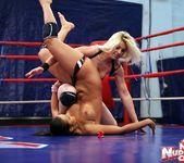 Ionella Dantes & Lioness - Lesbian Wrestling 11