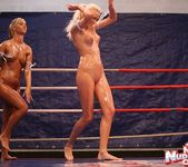 Linda Ray & Teena - Wrestling Girls - Nude Fight Club 3