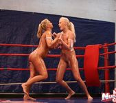 Linda Ray & Teena - Wrestling Girls - Nude Fight Club 4
