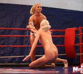 Linda Ray & Teena - Wrestling Girls - Nude Fight Club 5