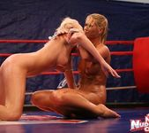 Linda Ray & Teena - Wrestling Girls - Nude Fight Club 8