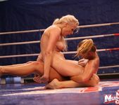Linda Ray & Teena - Wrestling Girls - Nude Fight Club 10