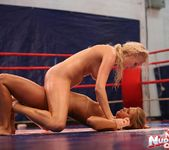 Linda Ray & Teena - Wrestling Girls - Nude Fight Club 15