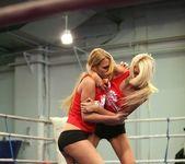 Antonya & Blanche - Lesbian Wrestling - Nude Fight Club 5