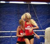 Antonya & Blanche - Lesbian Wrestling - Nude Fight Club 7
