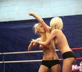 Antonya & Blanche - Lesbian Wrestling - Nude Fight Club 8