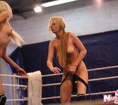 Antonya & Blanche - Lesbian Wrestling - Nude Fight Club 12