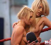 Antonya & Blanche - Lesbian Wrestling - Nude Fight Club 15