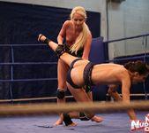 Blond Cat & Aspen - Girl on Girl - Nude Fight Club 12