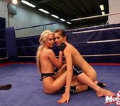 Blond Cat & Aspen - Girl on Girl - Nude Fight Club 20