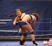 Bellina & Rihanna Samuel - Wrestling Girls - Nude Fight Club 10