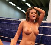 Bellina & Rihanna Samuel - Wrestling Girls - Nude Fight Club 19