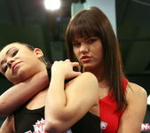 Rosee & Nilla - Wrestling Girls - Nude Fight Club 3