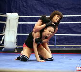 Rosee & Nilla - Wrestling Girls - Nude Fight Club 5