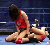 Rosee & Nilla - Wrestling Girls - Nude Fight Club 9
