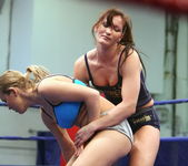 Bailee & Colette W. - Wrestling Girls - Nude Fight Club 6